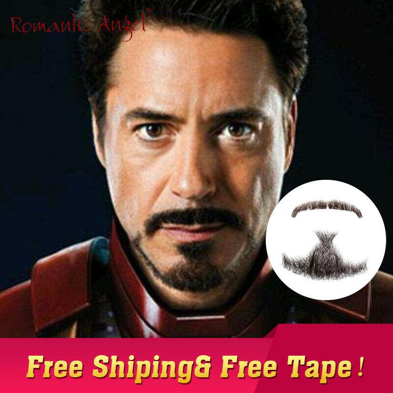 ハロウィンのコスプレに!アイアンマンの付け髭がかっこいい